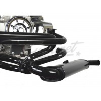 Sistema Kit escape VW Fusca Quiet Pack de 1 1/2