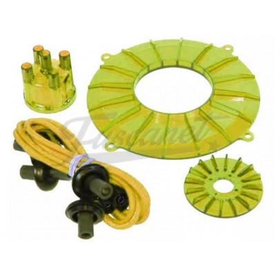 Kit Color Motor VW Fusca Kombi a AR EMPI Amarillo